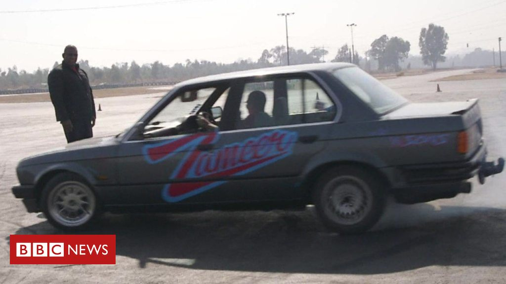 South African car 'spinner' wants to conquer sport